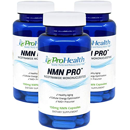 ProHealth NMN Pro 3 -Pack (150 mg, 60 Veggie Capsules) Nicotinamide Mononucleotide | NAD+ Precursor | Supports Anti-Aging, Longevity and Energy | Non-GMO by ProHealth (Image #9)