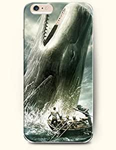 iPhone 6 Case,OOFIT iPhone 6 Plus (5.5) Hard Case **NEW** Case with the Design of Hunting the Huge Whale - ECO-Friendly Packaging - Case for Apple iPhone iPhone 6 Plus (5.5) (2014) Verizon, AT&T Sprint, T-mobile