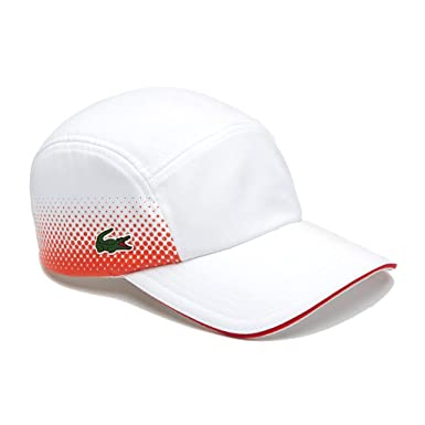 Lacoste RK3595-URK - Gorra para Hombre, Color Blanco y Rojo ...