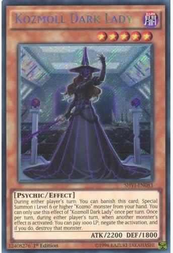 Yugioh Kozmoll Dark Lady SHVI-EN083 Secret Rare Mint Condition