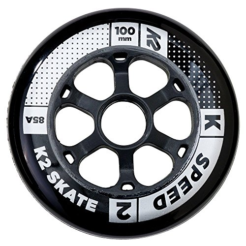 K2 Skate Speed 100 Mm / 85A 4-Wheel Pack - In Line Speed Skating Wheels