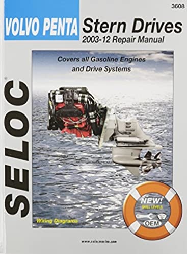 volvo penta stern drives 2003 2012 gasoline engines drive systems rh amazon com manual volvo penta 2003 manual volvo penta 5.0 gxi