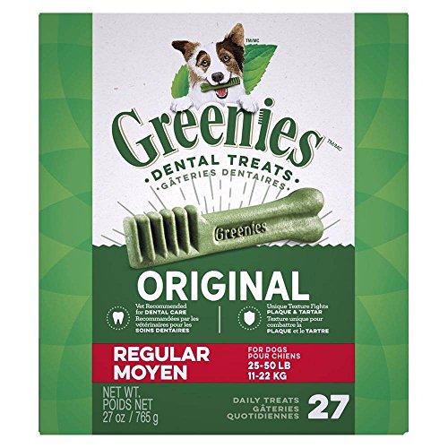 (Greenies Monster-Pak 27oz Canister, Regular (for dogs 25-50lbs))