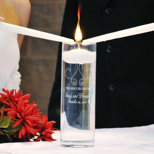 Cathy's Concepts Whimsical Hearts Floating Unity Candle