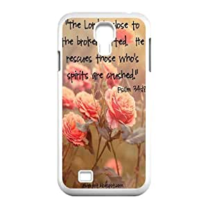 Custom Case for SamSung Galaxy S4 I9500 with Personalized Design christian bible verses