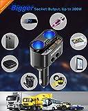 SUPERONE 200W 2-Socket Cigarette Lighter Splitter