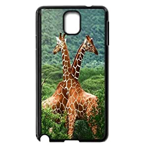 Giraffe and sunset Design Pattern Hard Skin Back Case Cover Potector For For Samsung Galaxy Note 4 Case FKGZ426474