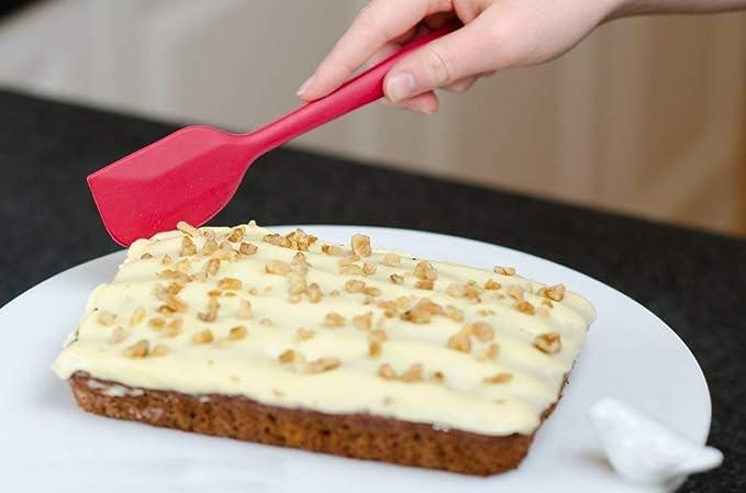 Compra Joyoldelf 9 - piezas de silicona para hornear / Set - espátulas, cucharas y Turner - resistente al calor utensilios de cocina (rojo) en Amazon.es