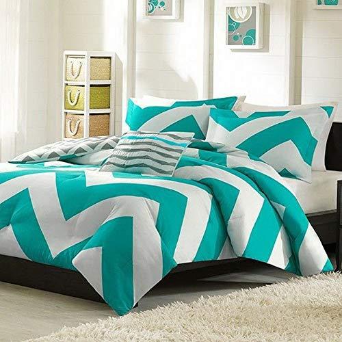 Kaputar Beautiful Reversible Modern Chic Chevron Stripe Duvet Cover Set Pillow ~ New! | Model CMFRTRSTS - 4056 | Twin XL Comforter Version