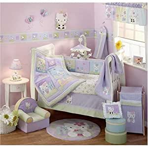 Hello Kitty & Friends - 6 Piece Crib Bedding Set