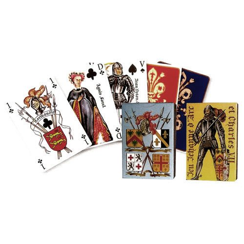 Dusserre - `Joan of Arc` 55 Playing Cards Game