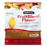 ZuPreem FruitBlend Flavor with natural flavors Essential Nutrition for Very Small Bird 10 lb
