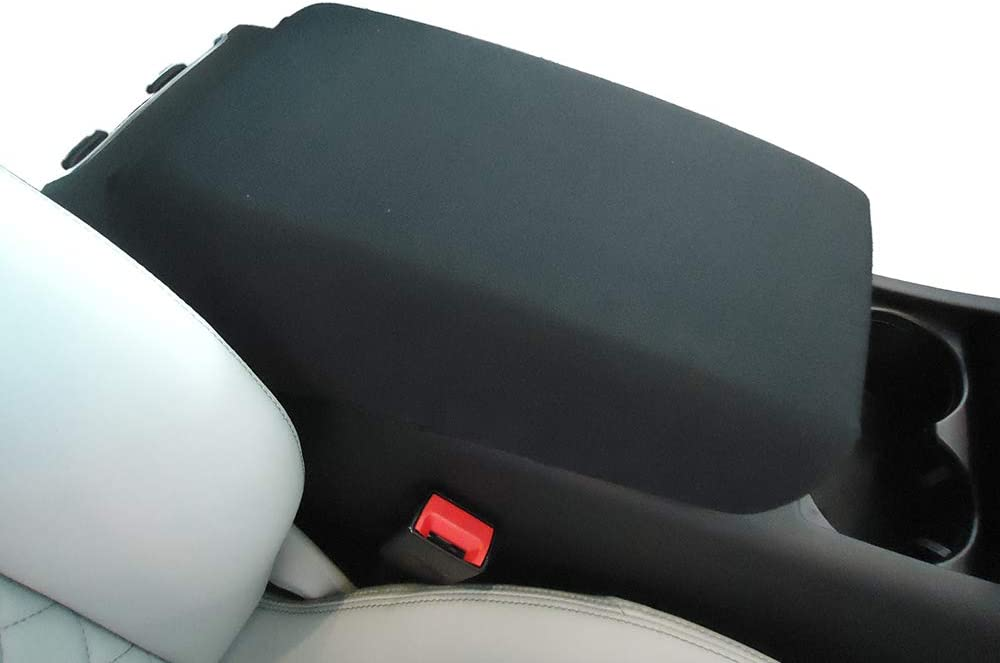 Car Console Covers Plus Made in USA Neoprene Auto Armrest Center Console Cover Designed for Ford Edge 2011-2014 Black