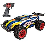 #9: Maxxrace RC Cars, Electric Racing Remote Control Car High-Speed 15-20Km/h 2.4Ghz with Rechargeable Battery for Kids and Adults