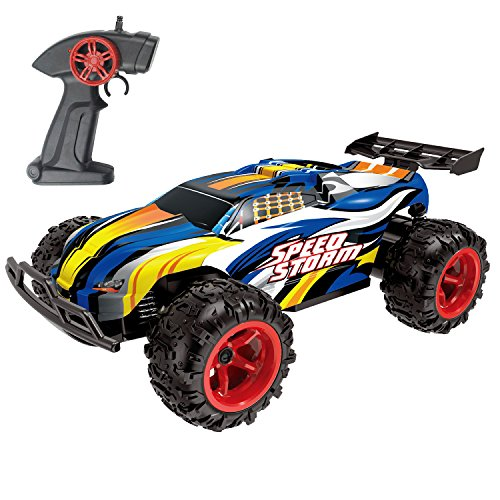 Maxxrace RC Cars, Electric Racing Remote Control Car High-Speed 15-20Km/h 2.4Ghz with Rechargeable Battery for Kids and Adults