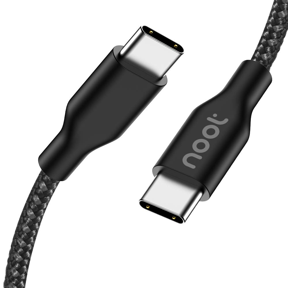 USB C to USB C Cable 6FT noot products PD Power Delivery 3A 60W Type C Fast Charger Cord Compatible for iPad Pro 11/12.9 2018/Google Pixel 4/4XL/2/2XL/3/3XL/3a/3a XL/Samsung Galaxy S20/Note 10