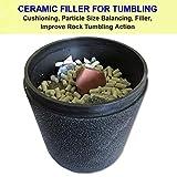 Polly Plastics Rock Tumbling Ceramic Filler Media