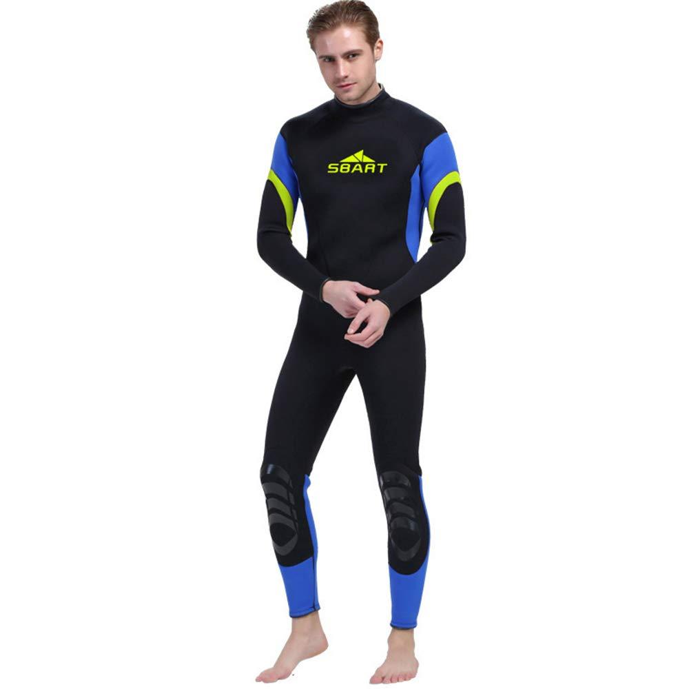 Male petit HONGSHENG1 3MM Caoutchouc Combinaison Costume De Surf VêteHommests De Surf Hiver Chaud Natation Maillot De Bain Une Pièce à Manches Longues épaississeHommest,Male,XL