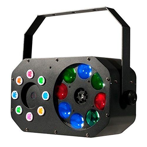 American DJ Stinger Gobo 3-in-1 Color Moonflower Gobo & Laser Effect Light (Certified Refurbished)