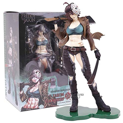 TIKIDA Horror Bishoujo Statue Halloween Michael Myers Dy Jason Tiffany 1/7 Scale PVC Figure Collectible Model Toy Thing You Must Have 21St Birthday Gifts Boys Favourite Characters 4T ()