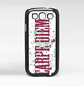 Carpe Diem- Seize the Day Burgundy and Teal Hard Snap on Case (Galaxy s3 III)