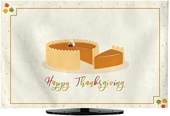 Funda para TV, diseño de Tarjeta de acción de Gracias, peregrino, Chica, Vector de Dibujos Animados: Amazon.es: Electrónica
