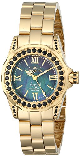 Invicta Women's 15054 Angel Analog Display Swiss Quartz Gold Watch