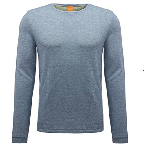 BOSS ORANGE PULLOVER WANNA FARBE HELLLBLAU 053