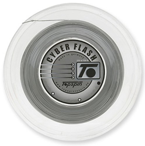 Topspin TOPCYBERSIL17R Cyber Flash String 17G 1.25mm Reel Silver