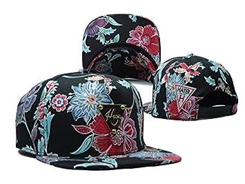 3cc20dfe8f7b4 Hater Snapback Cap New Hibiscus Floral Mode Blogger Vintage  Amazon ...