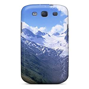 Sanp On Case Cover Protector For Galaxy S3 (mountain Background)