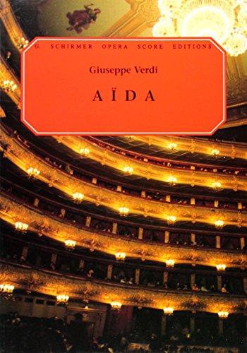 Aida: Vocal Score