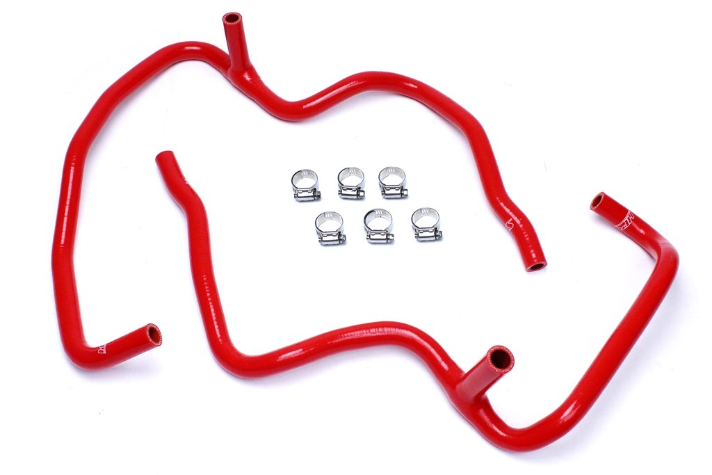 HPS 57-1472-RED XK Silicone Heater Hose Kit Coolant