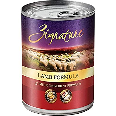 Zignature - Grain Free Limited Ingredient Formula Wet Dog Food, 13oz. Can (12 Pack)