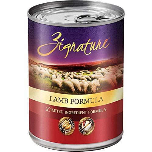 Zignature Grain-Free Lamb Canned Dog Food 13...
