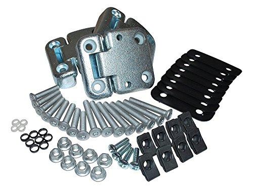 Hinges Full Door - LAND ROVER DEFENDER 90 / 110 FULL FRONT DOOR HINGE KIT & TORX HEAD BOLTS PART: DA1070