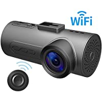 HaloCam C1 Plus Car Dash Cam FHD 1080P Car Cam WiFi Dashboard Camera with 170° Wide Angle SONY Lens Super Night Vision G-sensor Loop Recording