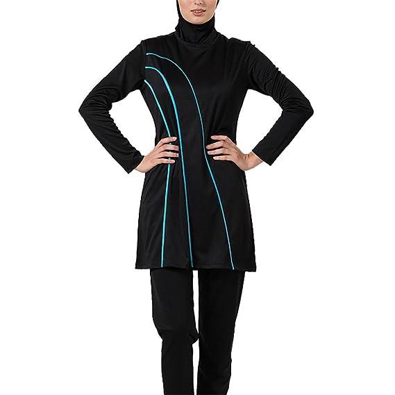 5266fb789f1 East Essence Tessa Burkini Modest Swimsuit - Final Sale: Amazon.co.uk:  Clothing
