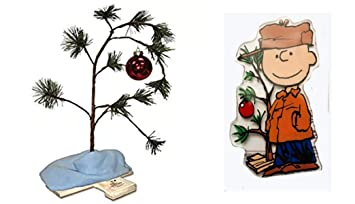 Charlie Brown Christmas Tree Drawing.Kjg S Treasure Chest Charlie Brown Christmas Tree 24 Inches And Blanket Non Musical With Peanuts Character Two Side Window Cling Charlie Brown