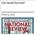 Can Israel Survive?   Victor Davis Hanson