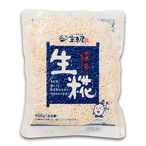 HORAIYA NAMA KOJI 400g(14.1 oz.). MISO and SHIOKOJI are made and meat and fish are delicious. It is a traditional Japanese food that is good for health.