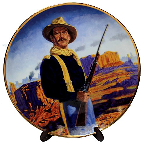 John Wayne, Hero of The West Franklin Mint Collectible Plate ()