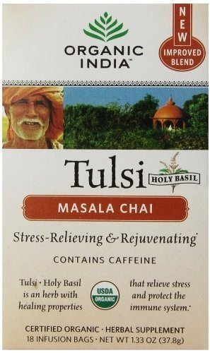 Organic India - Tulsi Tea Chai Masala - 18 tea bags ( Value Bulk Multi-pack)