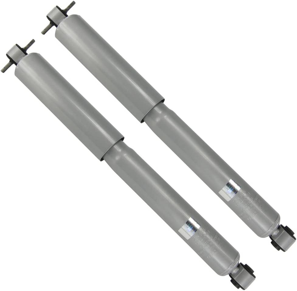 Pair Set of 2 Rear KYB Gas-a-just Suspension Shock Absorbers For Chevrolet Colorado GMC Canyon Isuzu i-350 i-370
