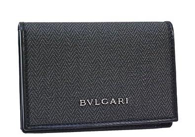 c42819c49687 ブルガリ カードケース BVLGARI ウィークエンド 名刺入れ PVCレザー メンズ 32588 【並行輸入品】