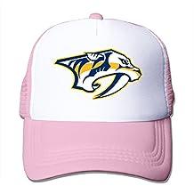 A-Joking Unisex Casual Baseball Cap Trucker Mesh Hat Adjustable - Nashville Predators One Size