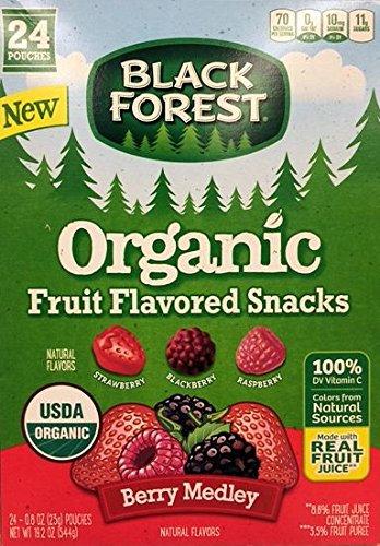 Black Forest Organic Fruit Flavored Snacks Berry Medley 24-.8 oz (Black Forest Fruit Snacks Ingredients)