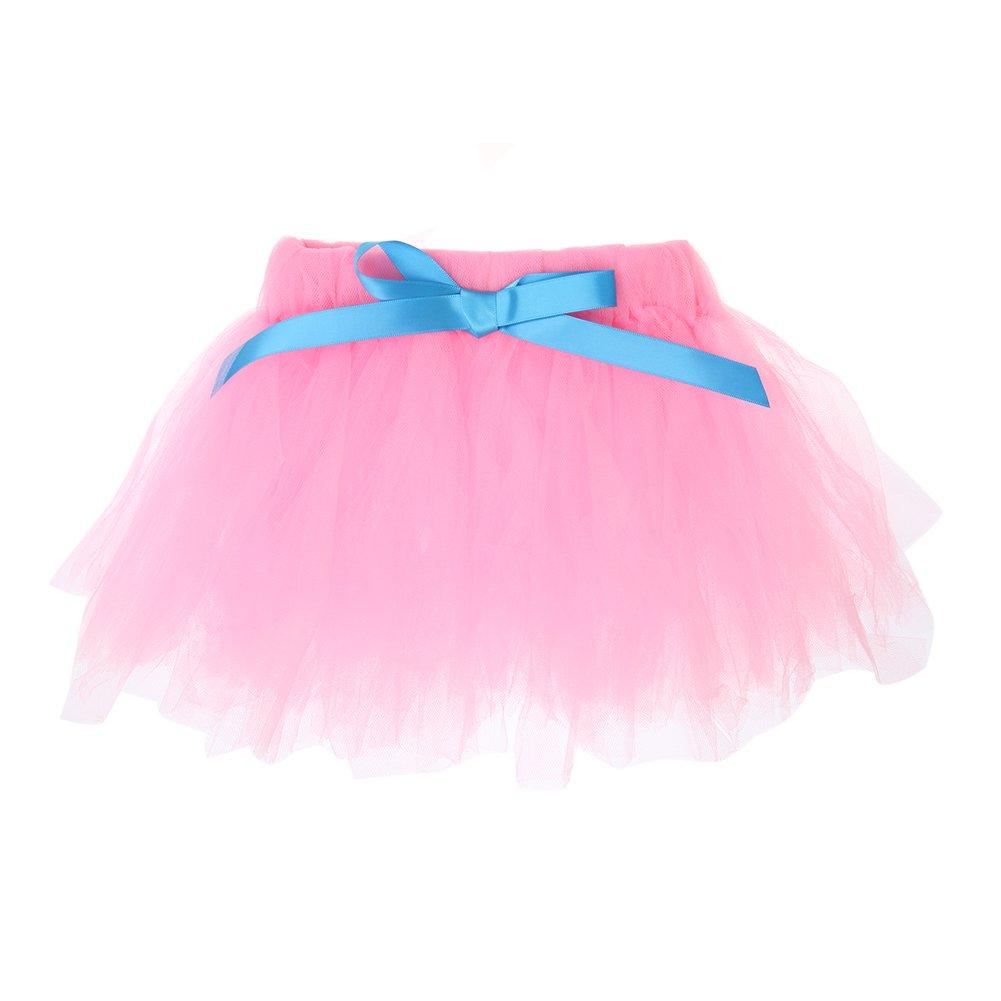 amazingdeal Baby Girls Sleeveless Floral Princess Party Dress Vest+Skirt Set Clothes