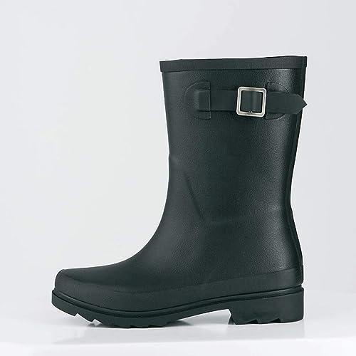 detailed look 3065e 99f51 Zcx Stivali da Pioggia Stivali Impermeabili per Adulti ...