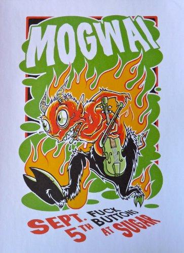 MOGWAI - Live at Sugar - Concert Tour Poster - 10